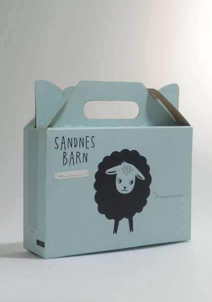Barnas Strikkepakke fra Sandnes
