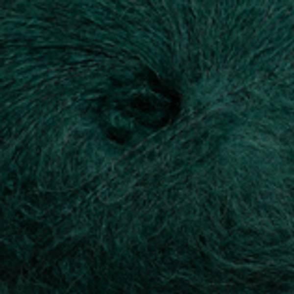 Alpakka Lin 2385 Smaragdgrønn