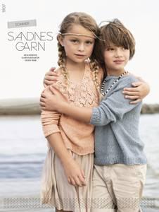 Bilde av Sandnes 1907 Sommer barn