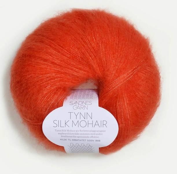 Tynn Silk Mohair 3818 Orange